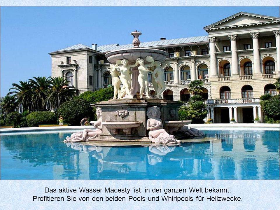 Das aktive Wasser Macesty ist in der ganzen Welt bekannt