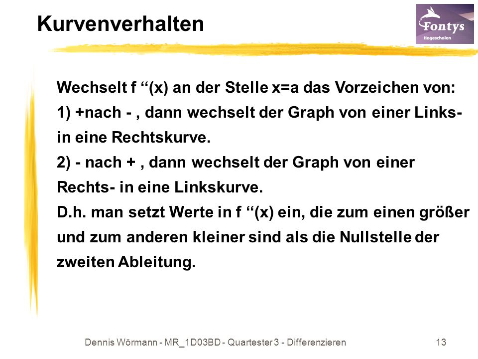 Dennis Wörmann - MR_1D03BD - Quartester 3 - Differenzieren