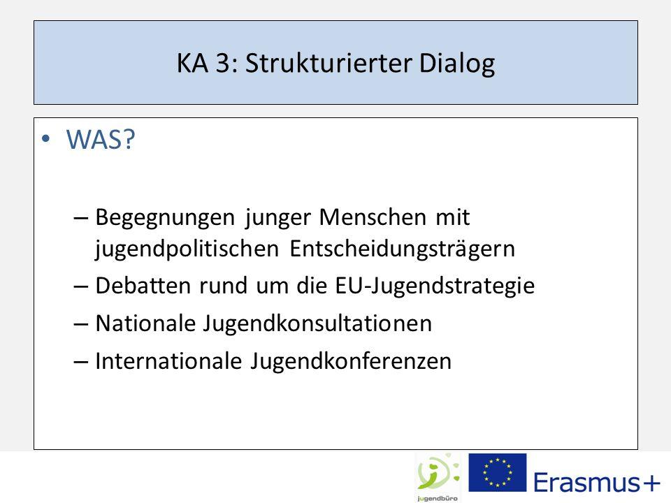 KA 3: Strukturierter Dialog