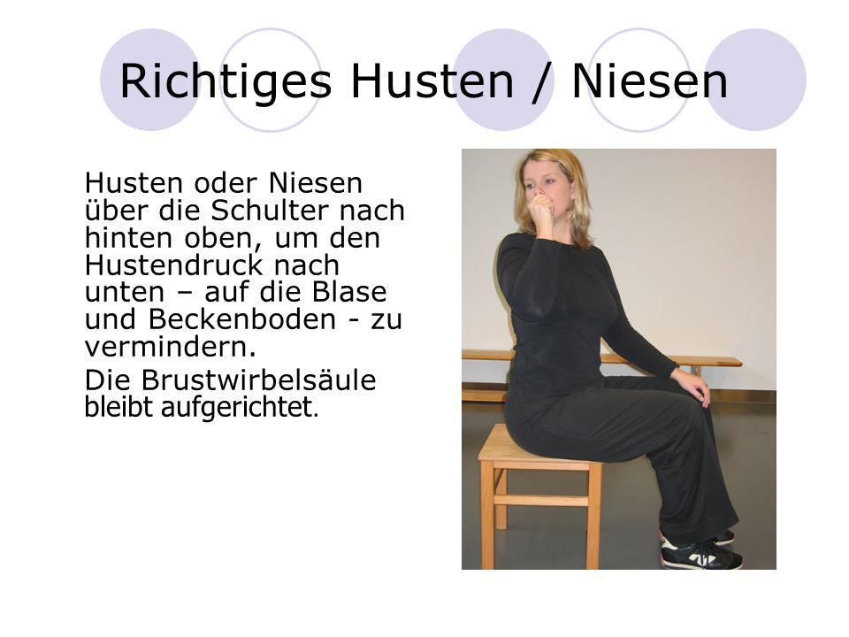 Richtiges Husten / Niesen