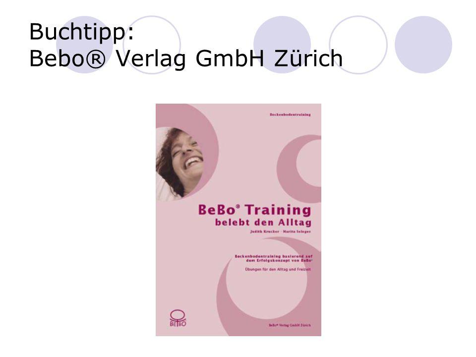Buchtipp: Bebo® Verlag GmbH Zürich