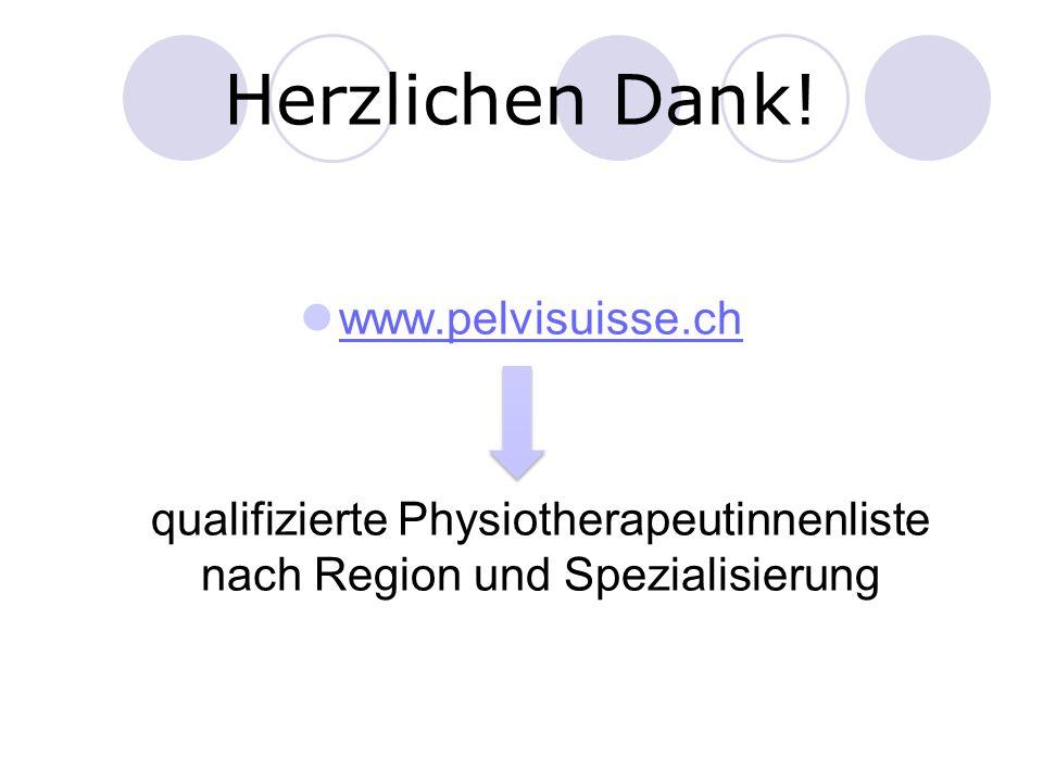 Herzlichen Dank! www.pelvisuisse.ch