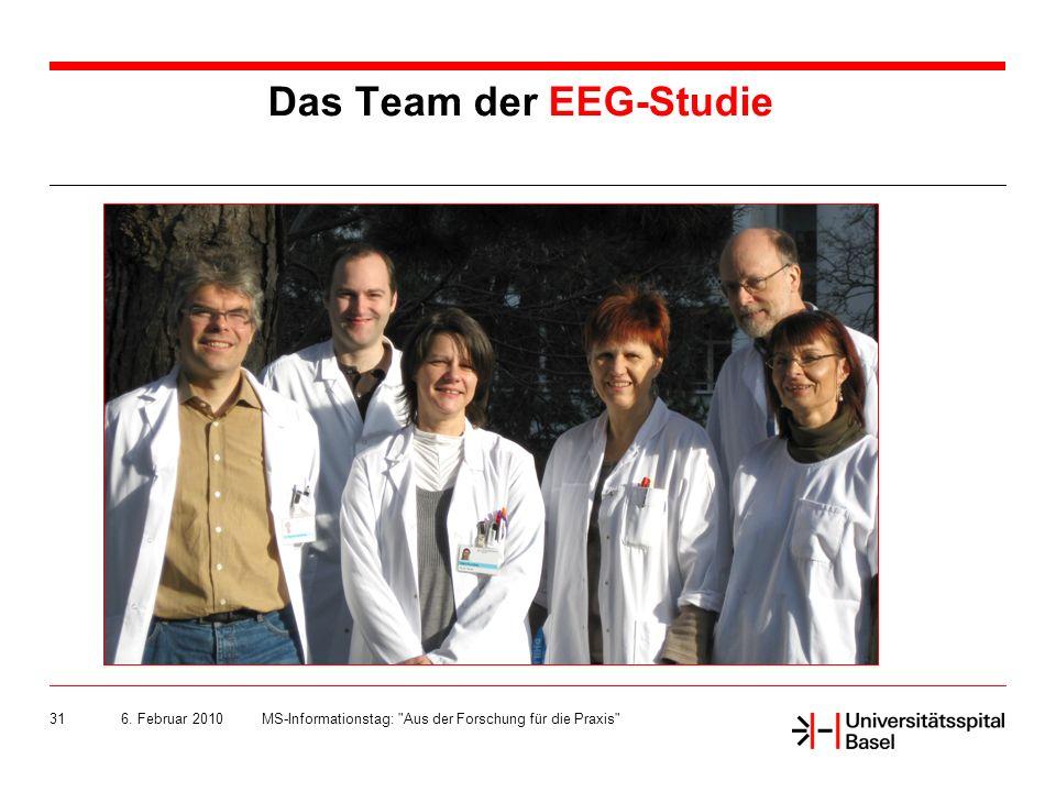 Das Team der EEG-Studie