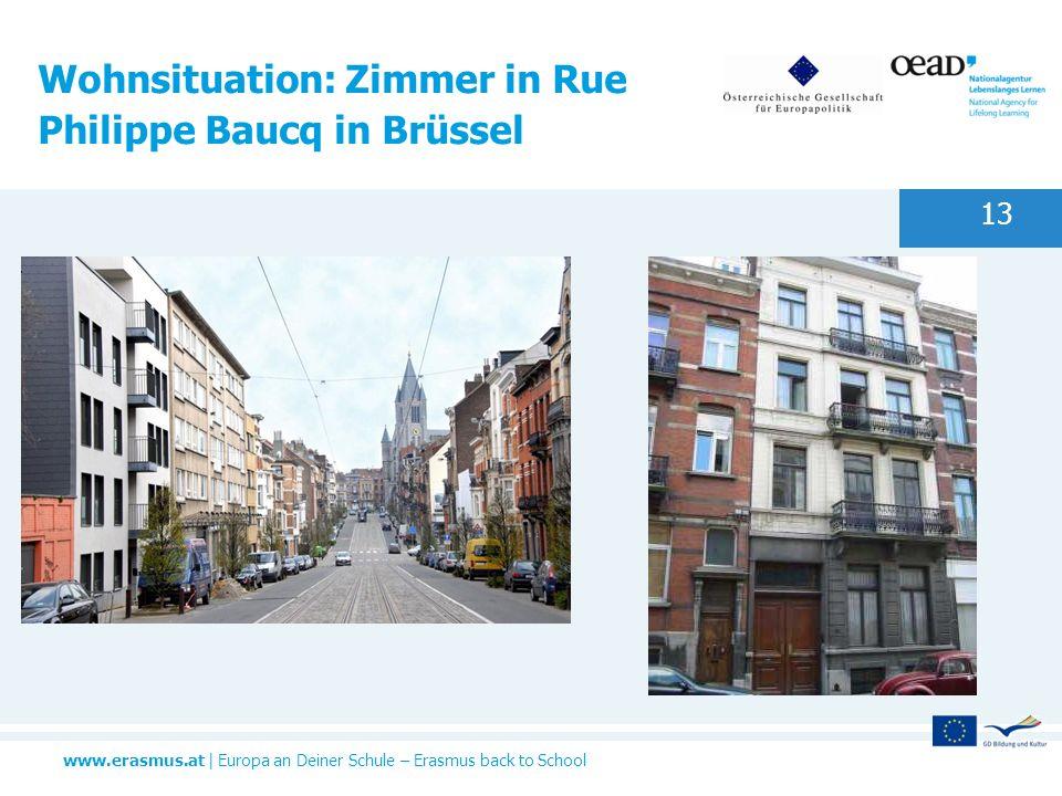 Wohnsituation: Zimmer in Rue Philippe Baucq in Brüssel