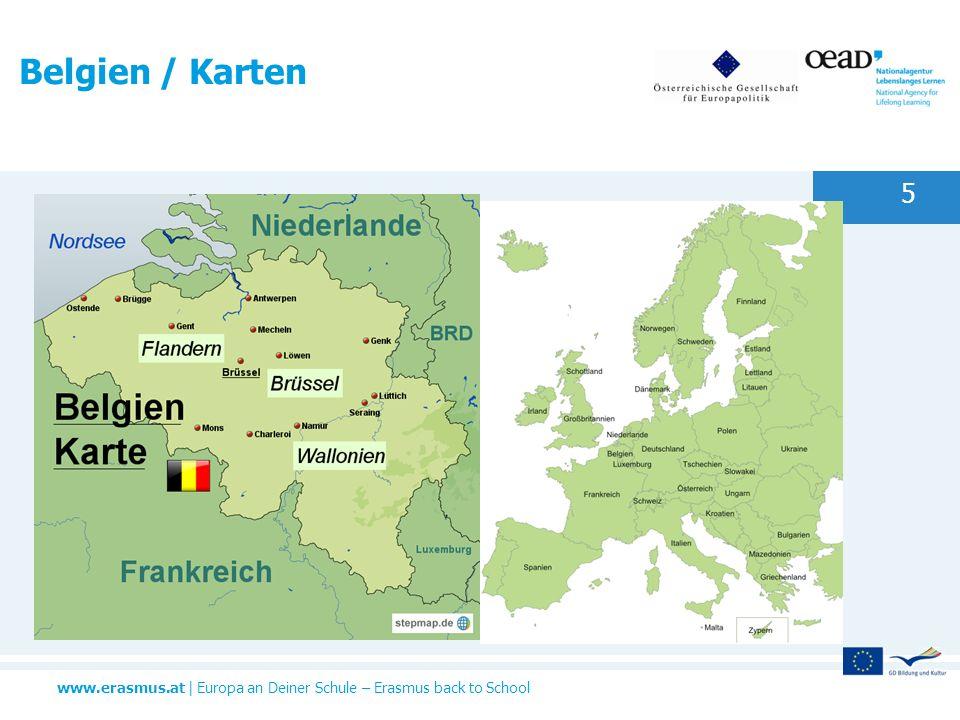 Belgien / Karten