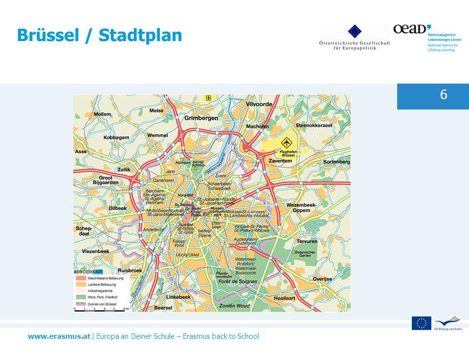 Brüssel / Stadtplan