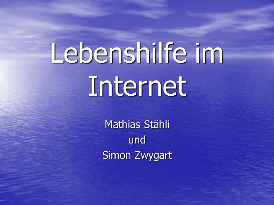 Lebenshilfe im Internet