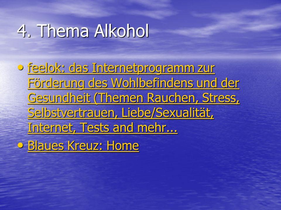 4. Thema Alkohol