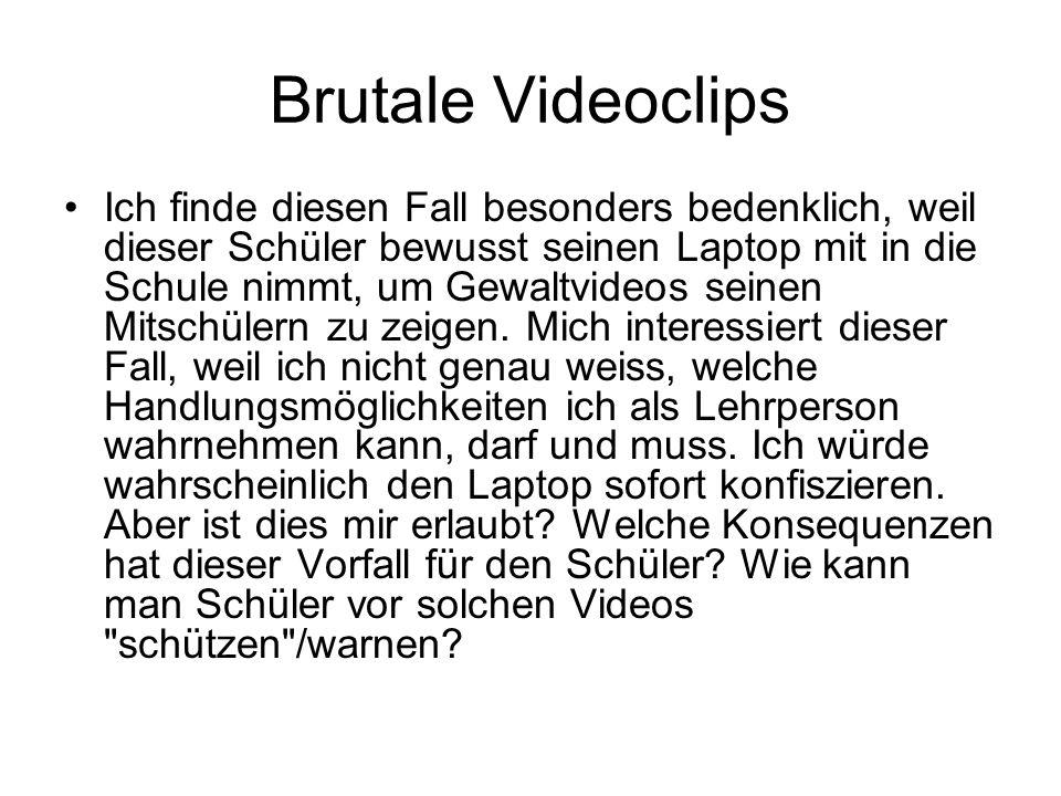 Brutale Videoclips