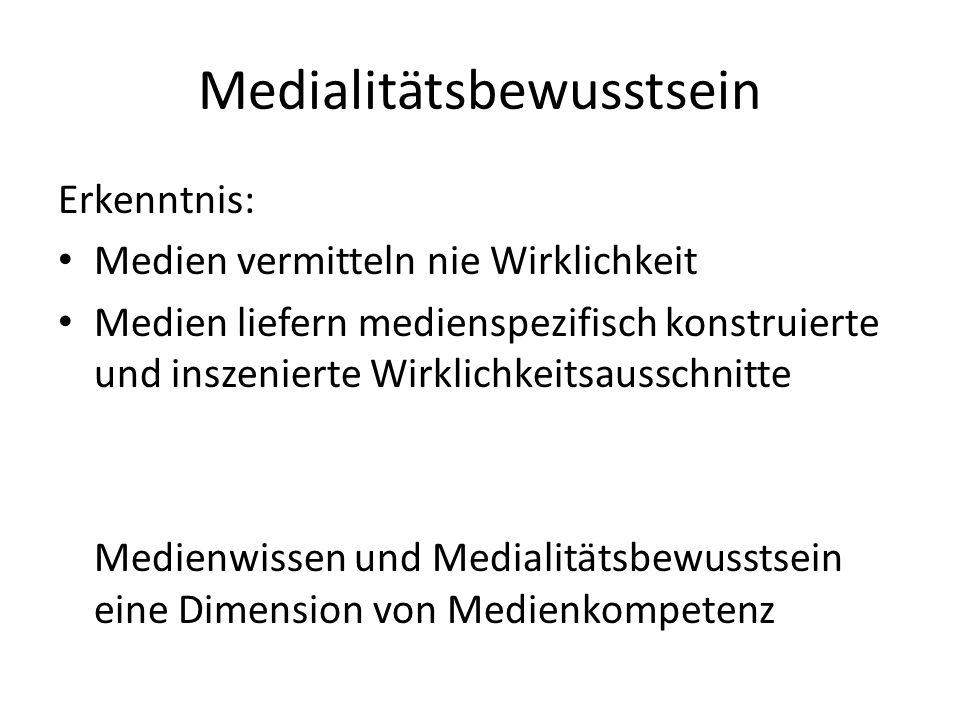 Medialitätsbewusstsein