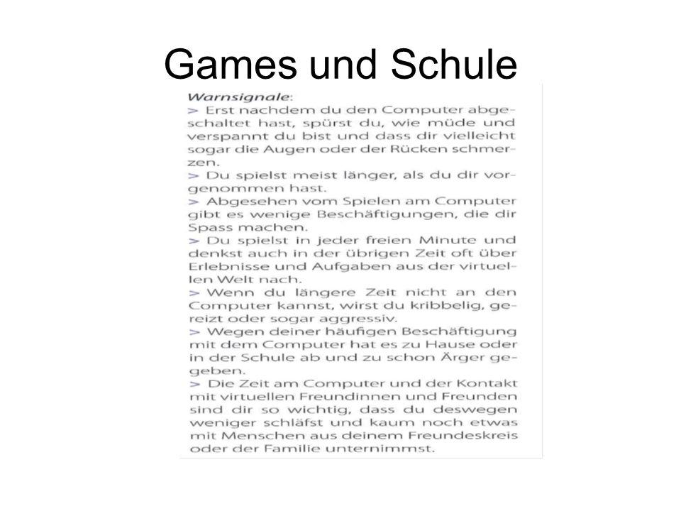 Games und Schule