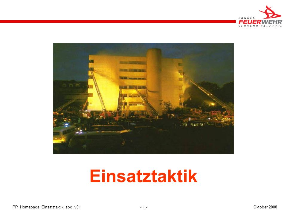 Einsatztaktik Einsatztaktik PP_Homepage_Einsatztaktik_sbg_v01