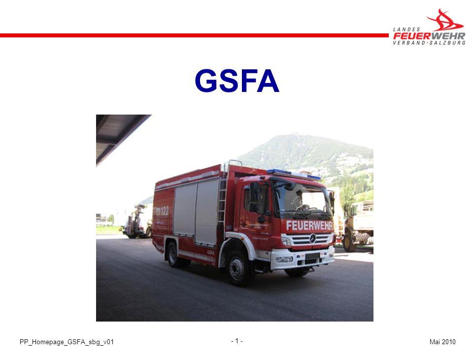 GSFA Atemschutz