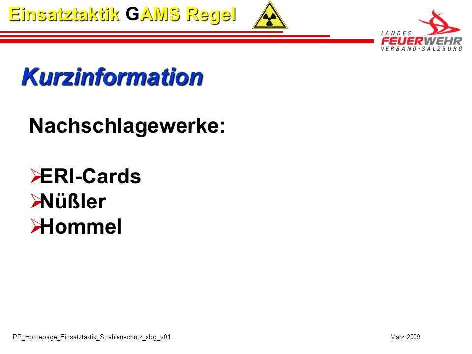 Kurzinformation Nachschlagewerke: ERI-Cards Nüßler Hommel