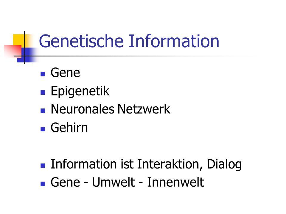Genetische Information