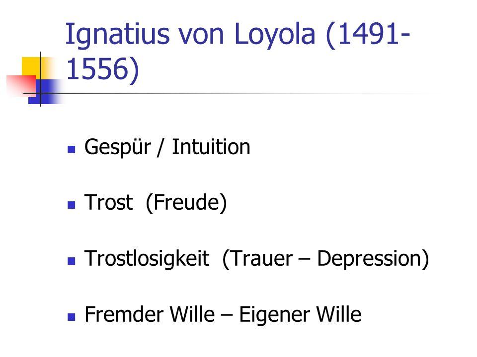 Ignatius von Loyola (1491-1556)