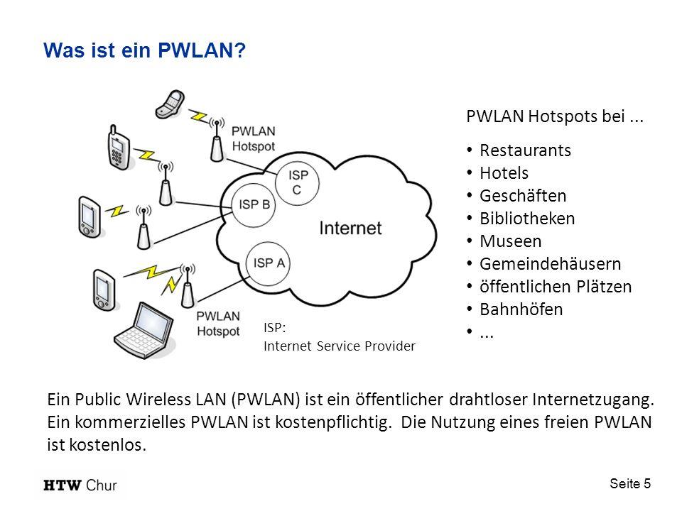 Was ist ein PWLAN PWLAN Hotspots bei ... Restaurants Hotels