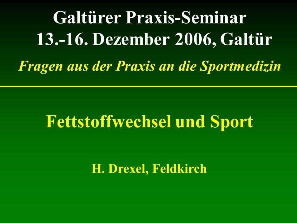Galtürer Praxis-Seminar 13.-16. Dezember 2006, Galtür