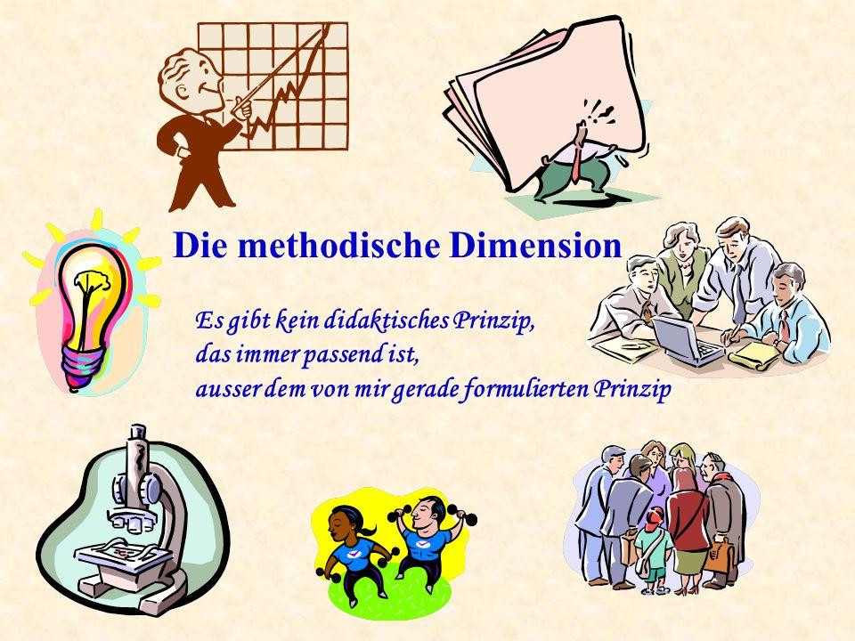Die methodische Dimension