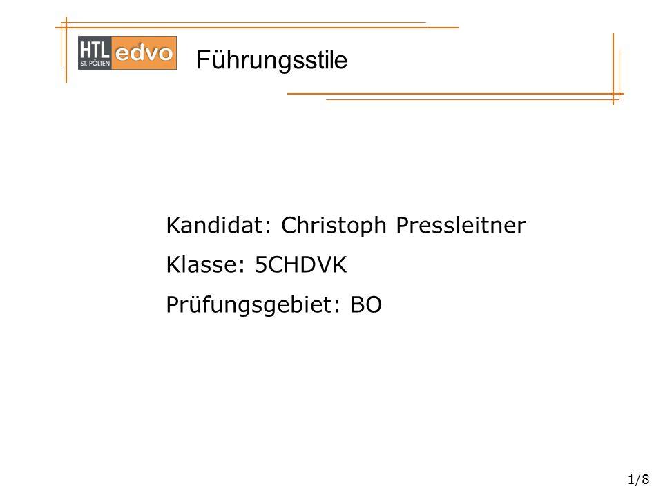 Kandidat: Christoph Pressleitner
