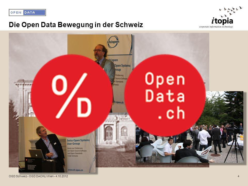 Die Open Data Bewegung in der Schweiz