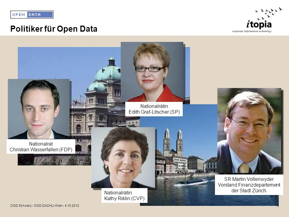 Politiker für Open Data