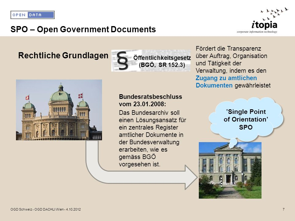 SPO – Open Government Documents