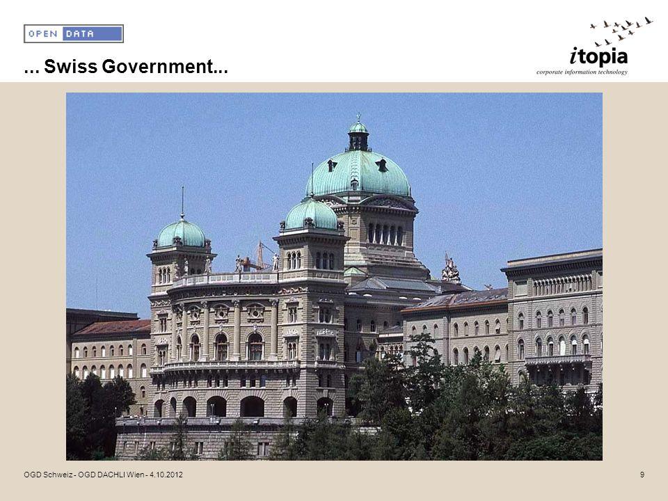 ... Swiss Government... OGD Schweiz - OGD DACHLI Wien - 4.10.2012