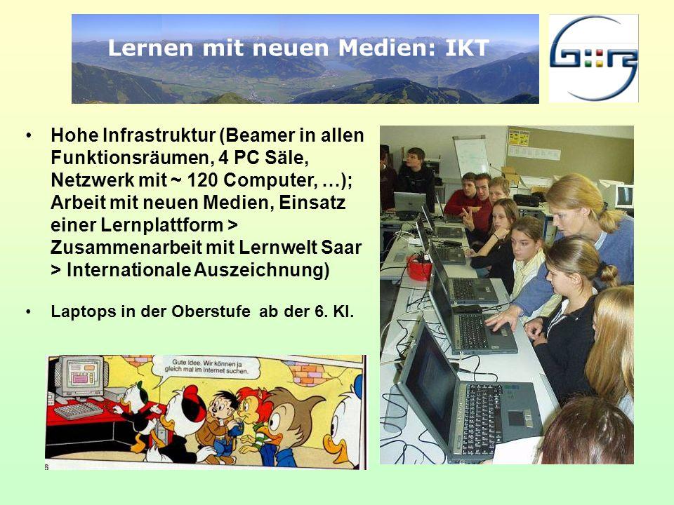 Lernen mit neuen Medien: IKT