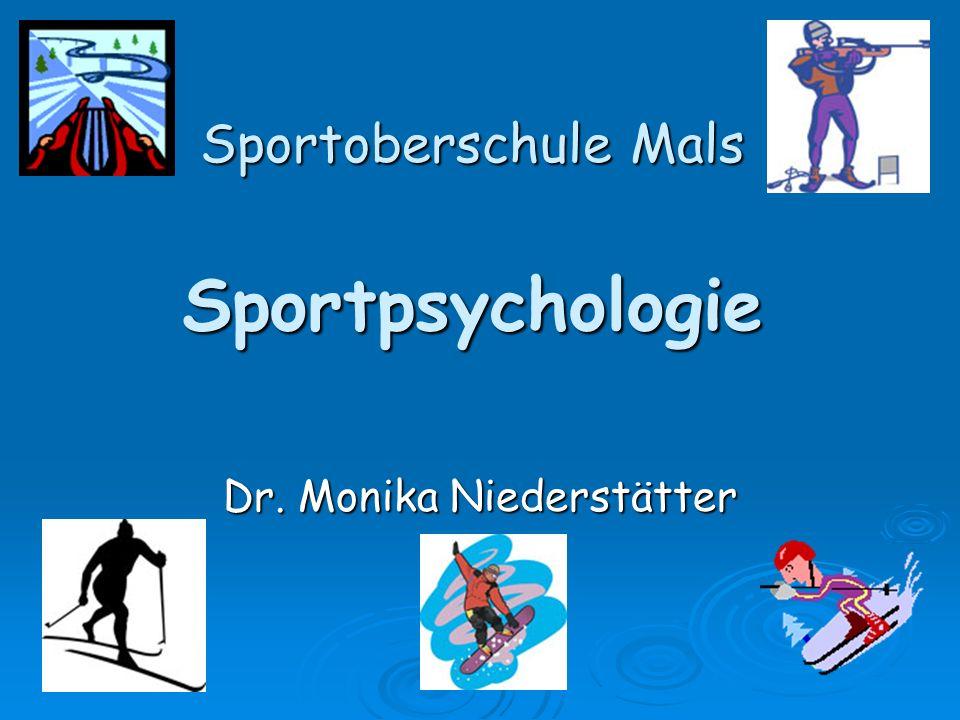 Sportoberschule Mals Sportpsychologie