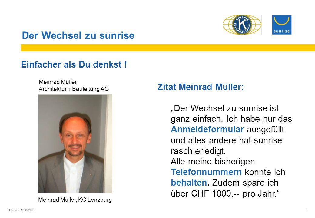 Meinrad Müller, KC Lenzburg