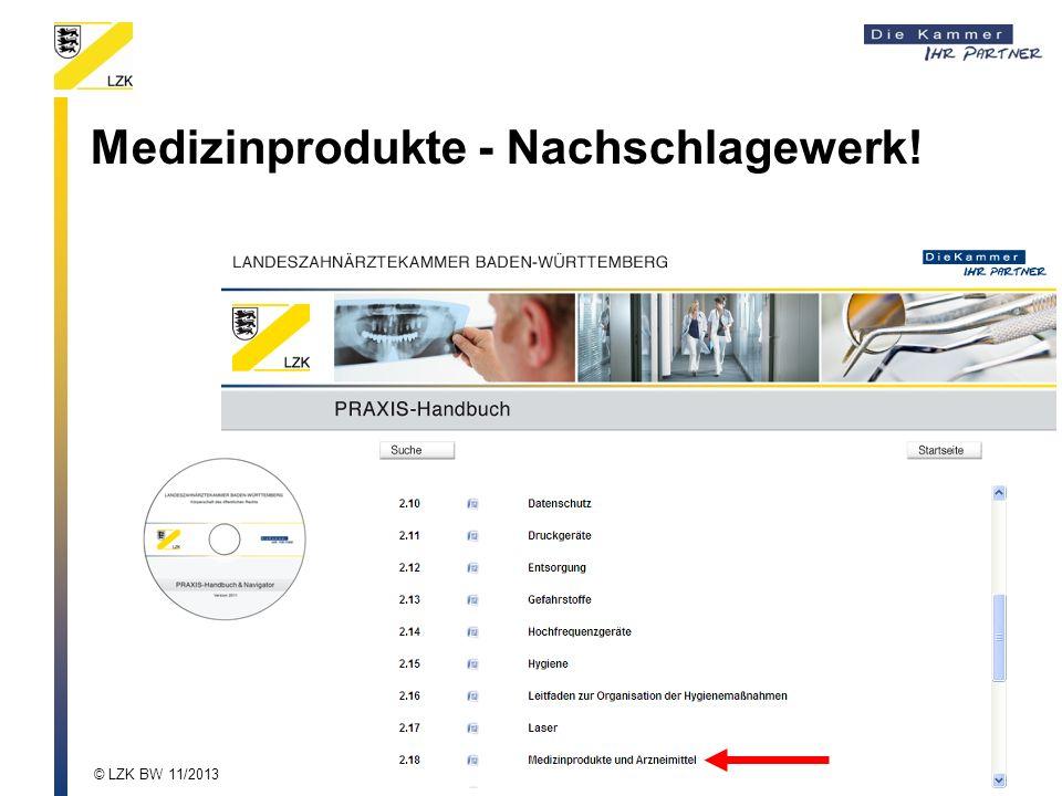 Medizinprodukte - Nachschlagewerk!