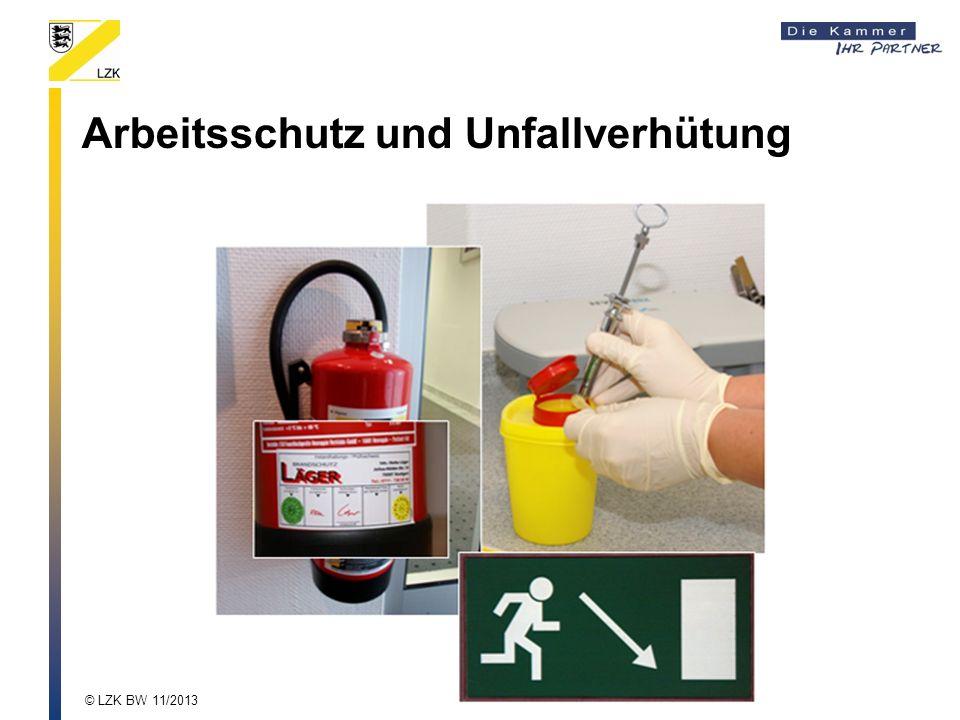 Arbeitsschutz und Unfallverhütung