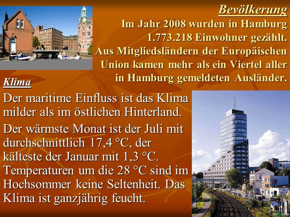 Bevölkerung Im Jahr 2008 wurden in Hamburg 1. 773
