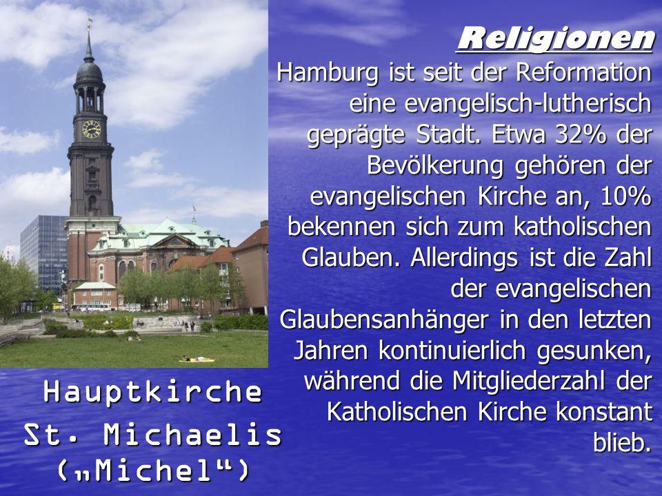 """Hauptkirche St. Michaelis (""""Michel )"""