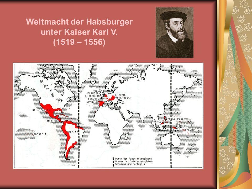 Weltmacht der Habsburger