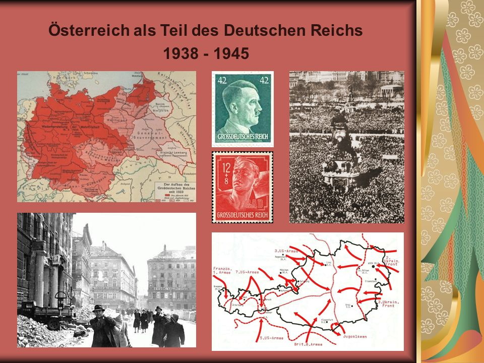 Österreich als Teil des Deutschen Reichs