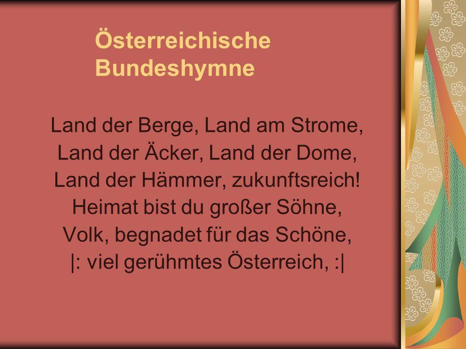 Österreichische Bundeshymne