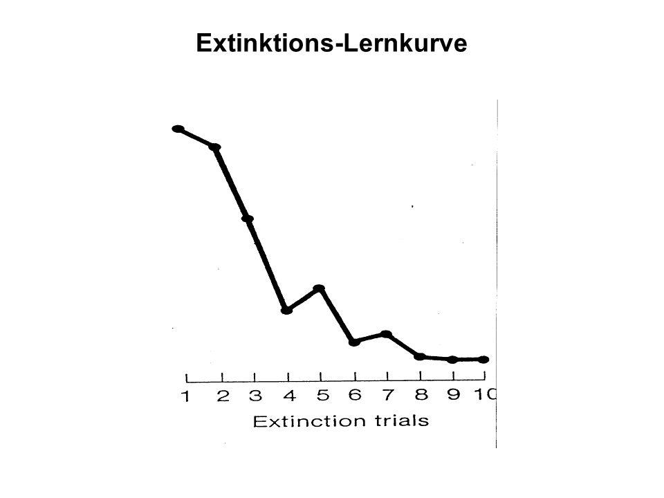 Extinktions-Lernkurve