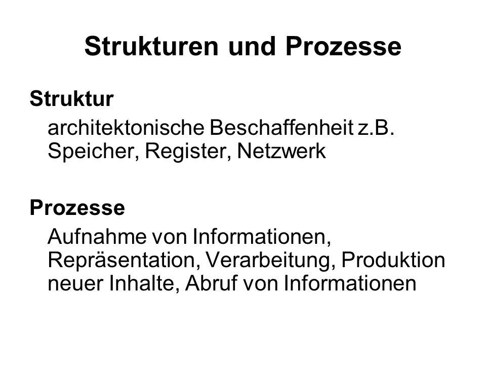 Strukturen und Prozesse