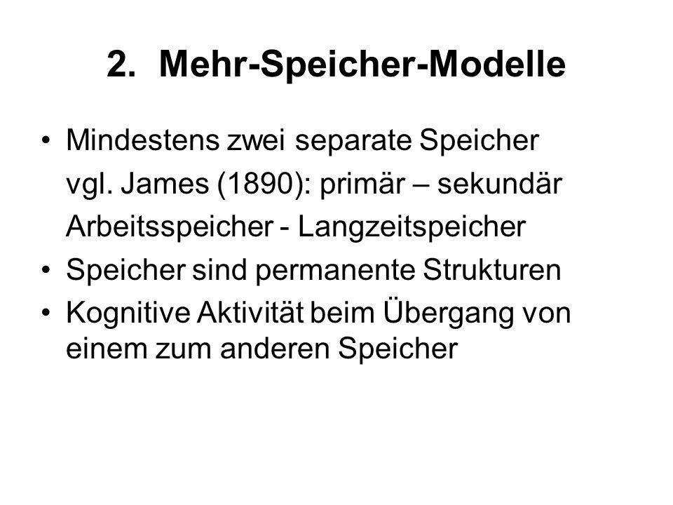 2. Mehr-Speicher-Modelle