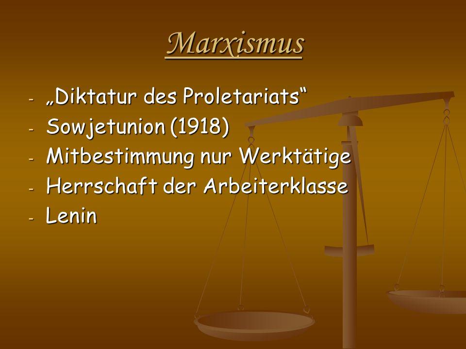 "Marxismus ""Diktatur des Proletariats Sowjetunion (1918)"