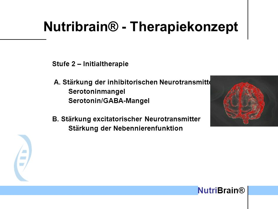 Nutribrain® - Therapiekonzept