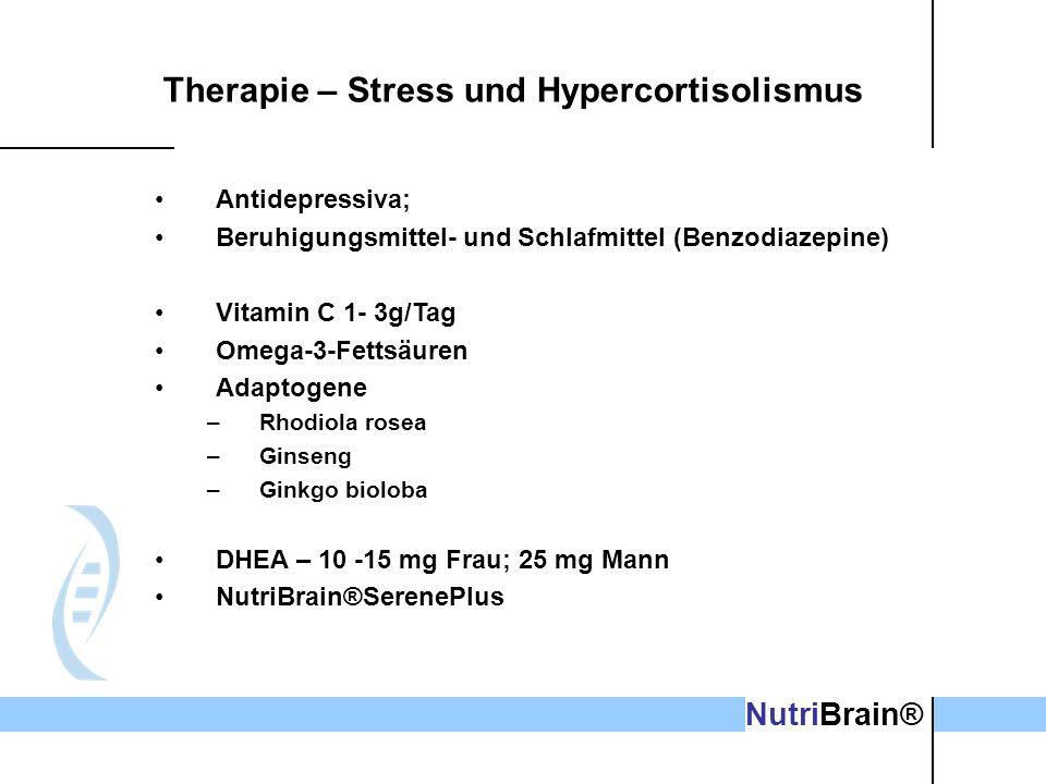 Therapie – Stress und Hypercortisolismus