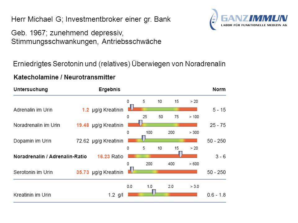 Herr Michael G; Investmentbroker einer gr. Bank