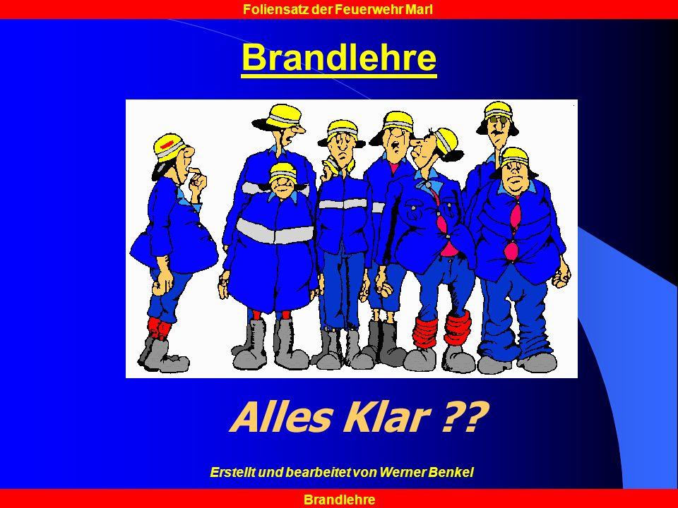 Erstellt und bearbeitet von Werner Benkel