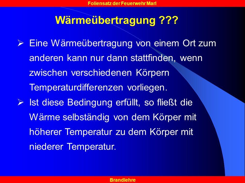 Wärmeübertragung