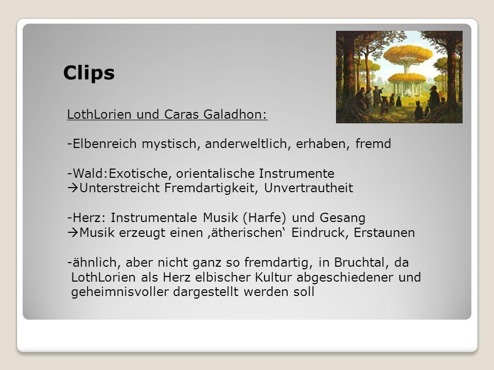 Clips LothLorien und Caras Galadhon: