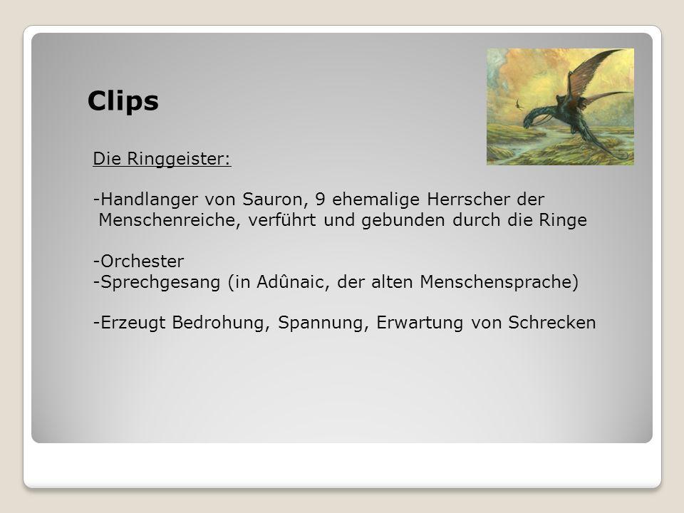 Clips Die Ringgeister: