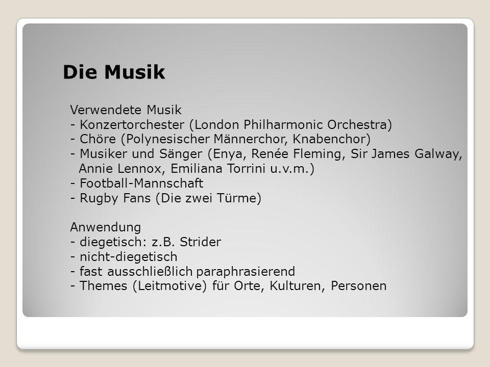 Die Musik Verwendete Musik